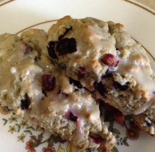Cherry Scones for Cherry Season