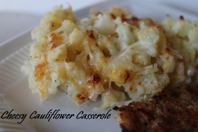Cheesy Cauliflower Casserole2