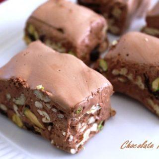 Insanely Good Chocolate Nougat