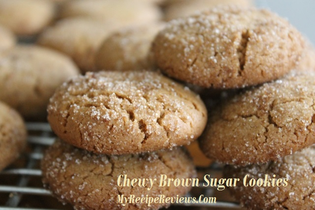 Chewy Brown Sugar Cookies |