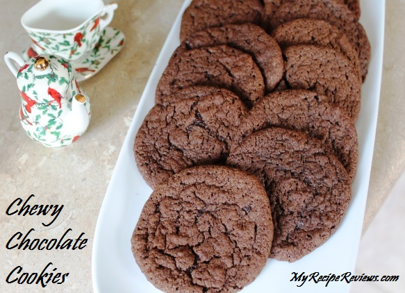 Chewy Chocolate Cookies Two