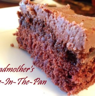 Grandmother's Cake-in-the-Pan