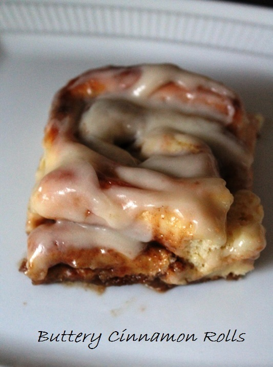 Cinnamon Roll Finished