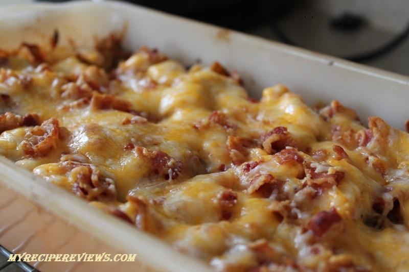 ... Loaded potato, buffalo chicken, casserole – three things I really