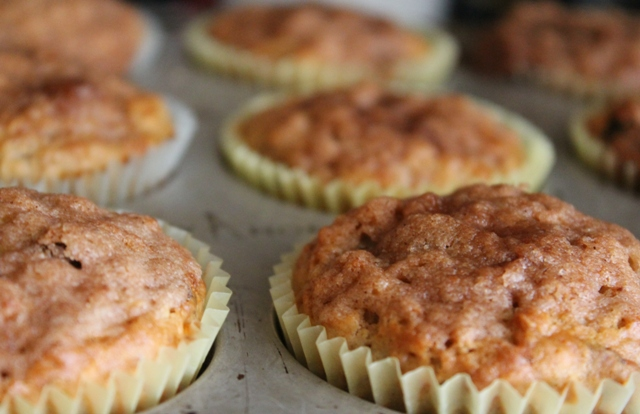Oatmeal Raisin Muffins 3
