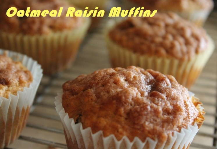Oatmeal Raisin Muffins