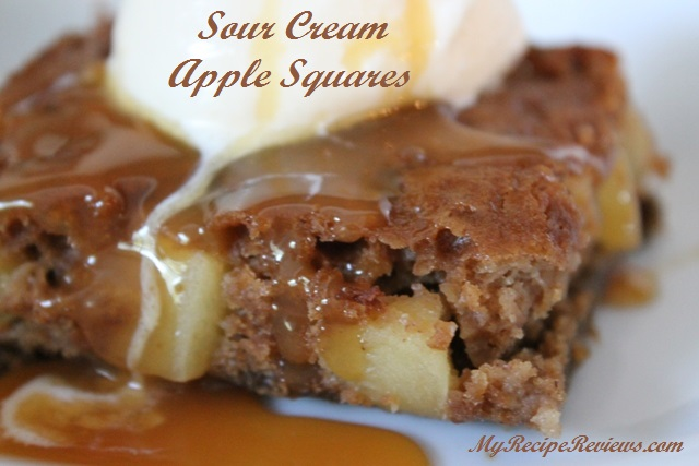 Sour Cream Apple Squares 2
