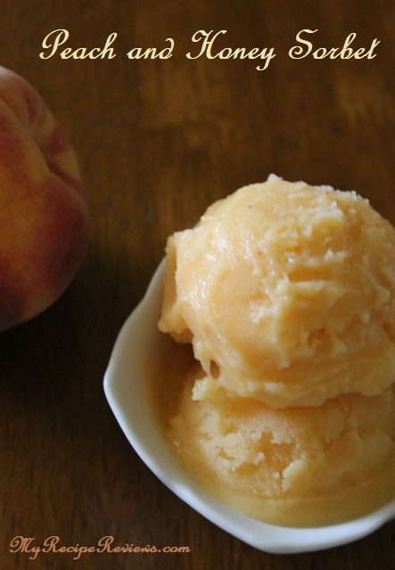 Peach Honey Sorbet 3