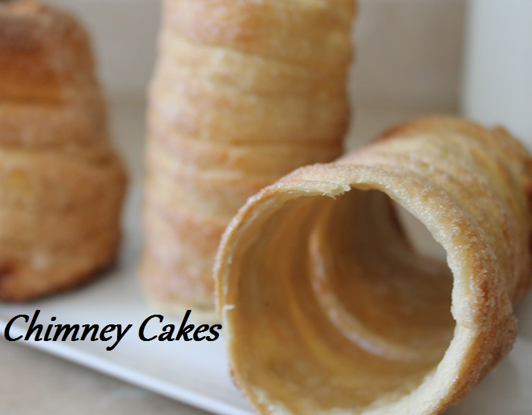 ChimneyCakes on Plate