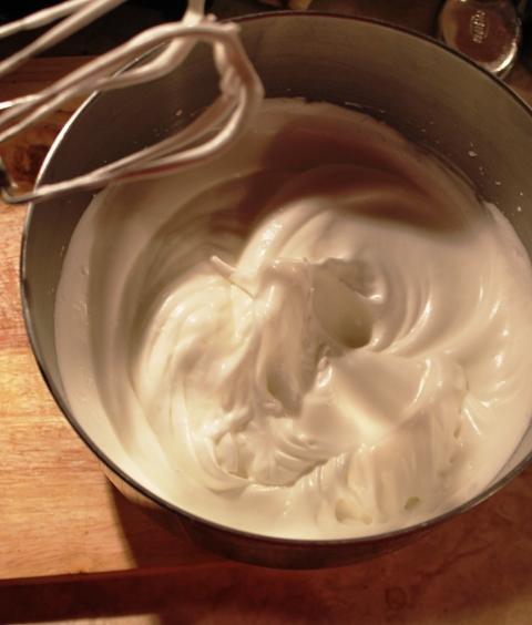 Sacher Torte Egg Whites