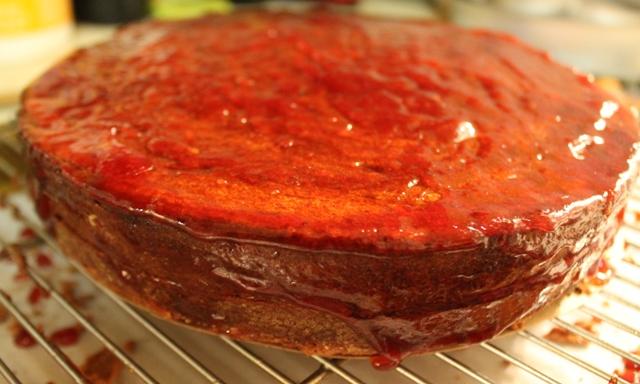 Sacher Torte with Jam