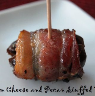 Cream Cheese and Pecan Stuffed Dates