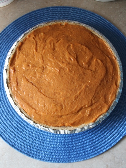 Double Layer Pumpkin Pie 2
