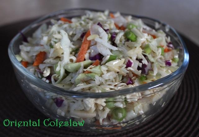 Oriental Cole Slaw Bowl
