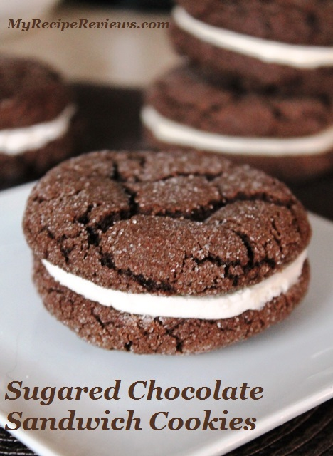 chocolate sugar cookie and love that filling. My big pictured cookies ...