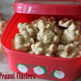 Salted Peanut Clusters