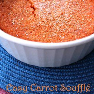 Easy Carrot Soufflé