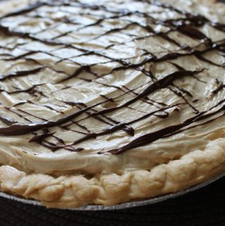 Fudgy Peanut Butter Pie