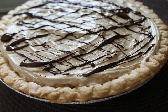 Peanut Butter Fudge Pie1