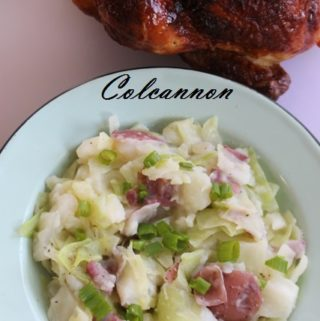 Irish Colcannon ('Taters and Cabbage to us Texans)