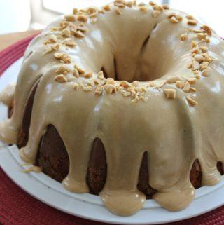 Double Peanut Butter Pound Cake