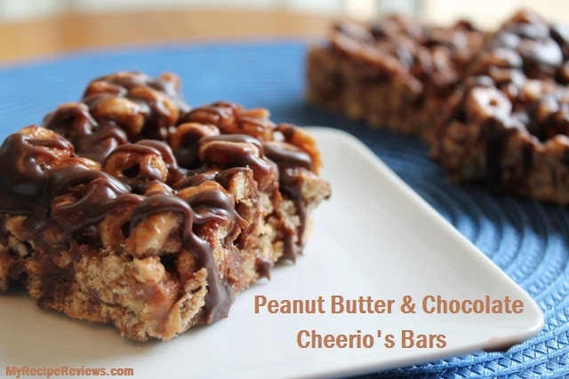 Chocolate Peanut Butter Cheerios Bars
