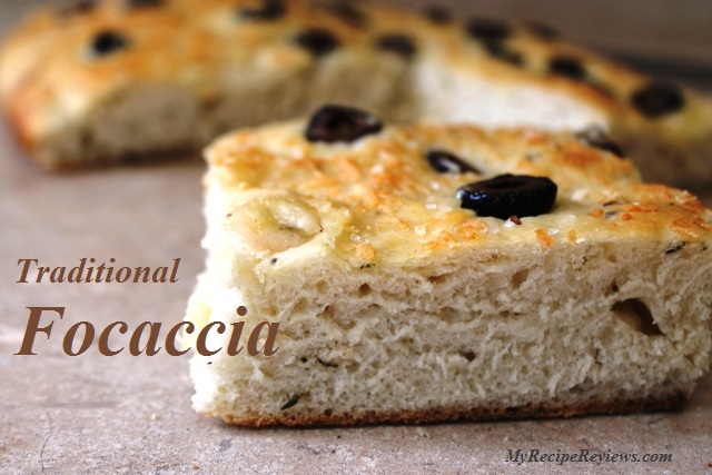 Focaccia Baked