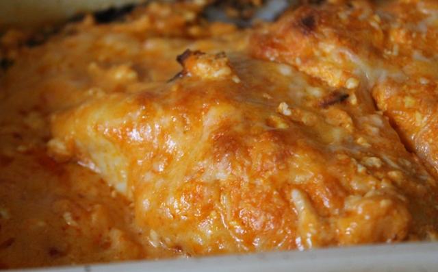 Buffalo Cream Cheese Chicken
