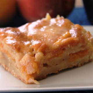Peachy Brown Butter Bars