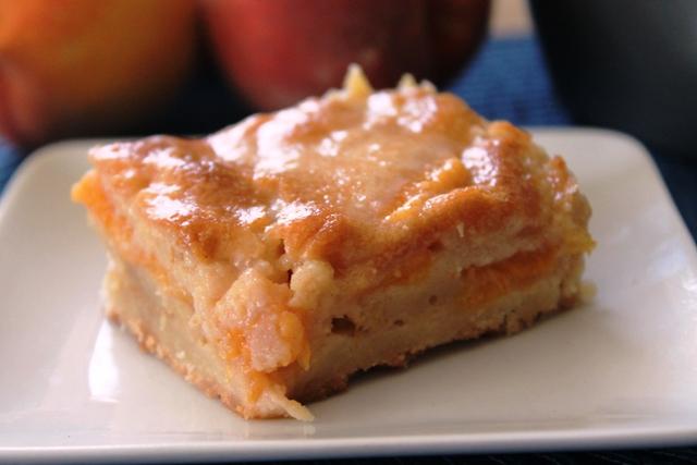 Peachy Brown Butter Bars
