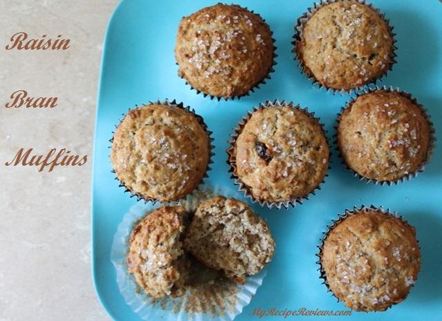 Raisin Bran Muffins2