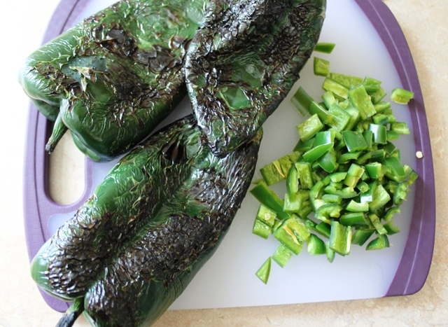 Pork Chile Verde Peppers