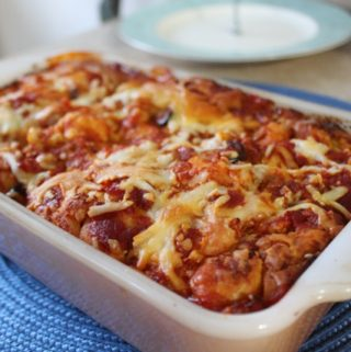 Quick and Easy Puffy Pizza