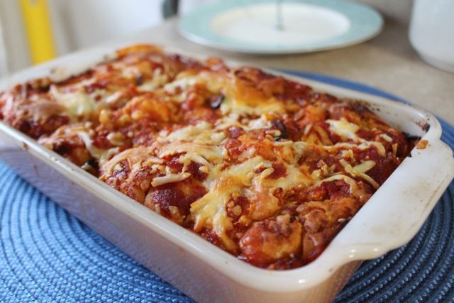 Quick and Easy Deep-Dish Pizza