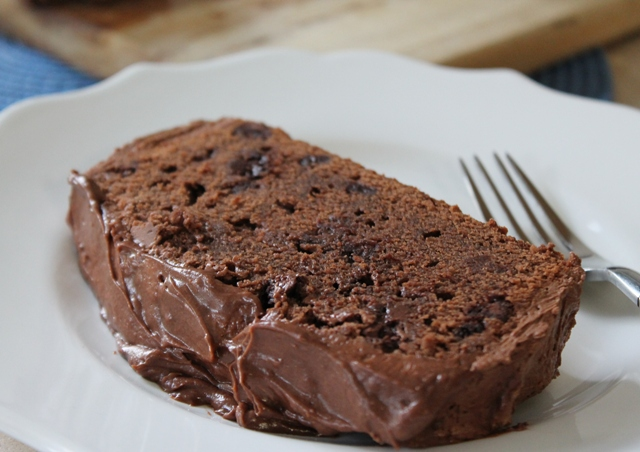 Chocolate Chocolate Chip Cake with Chocolate Buttercream Frosting2