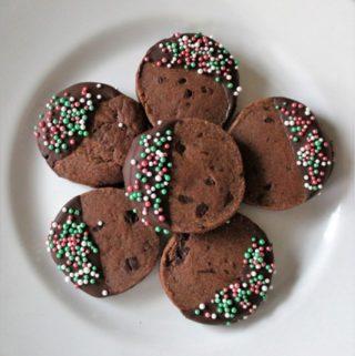 Dark Chocolate Sablés