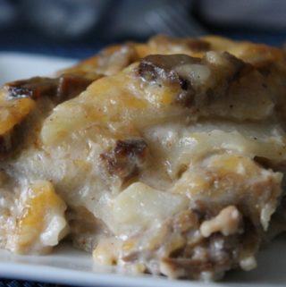 Beef Potato Bake
