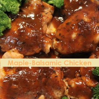 Maple-Balsamic Chicken (Cooking for Two)