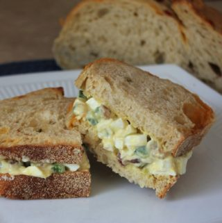 Easter Egg Salad Sandwiches