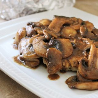 Chicken with Balsamic Mushrooms