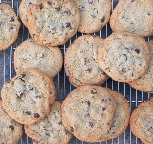 Chocolate Chip Cookies From The Back In The Day Cookbook