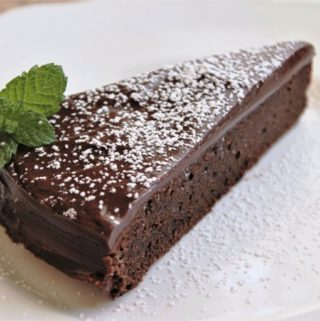 Cloud Forest Chocolate Cake