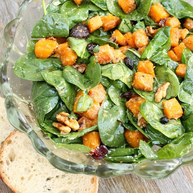 Fall Is Finally In The Air Here Texas For One Day At Least And I Thought This Warm Ernut Squash Salad By Ina Garten Would Be Perfect Lunch
