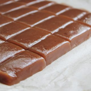Creamy Soft Homemade Caramels