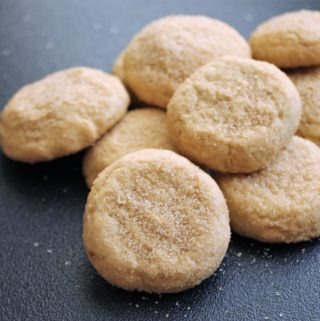 Soft Sugared Maple Cookies