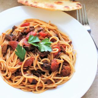 Pasta with Mushroom Ragu (Cooking for Two)